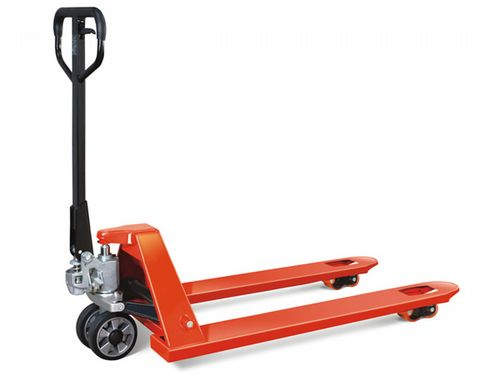 Fully Assembled 2.5 Ton Hand Pallet Pump Truck - 2500KG Euro Fork Trolley